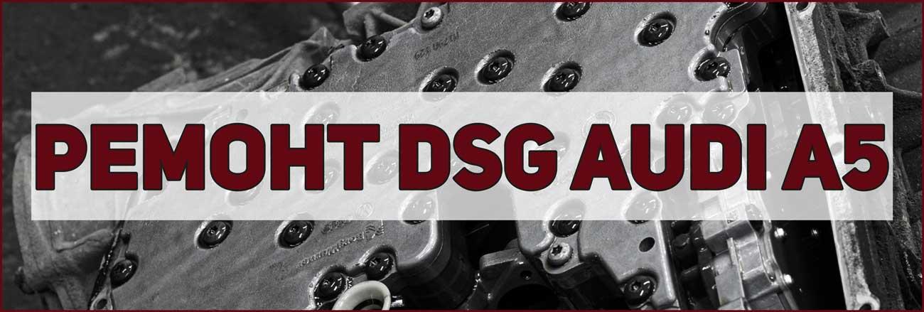 ремонт DSG Audi A5 в Москве