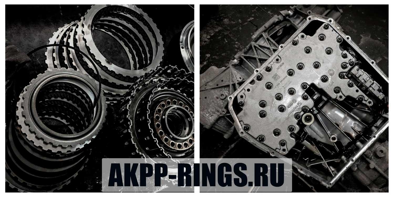 замена сцепления и ремонт мехатроника DL501 Audi A5 DSG