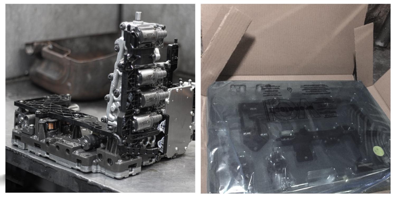 Замена ремкомплекта DSG Audi A6 Dl501 0B5